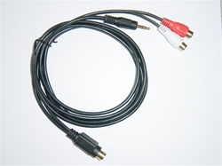 DICE Electronics ACC-106-AUX RCA/3.5mm Audio Cable