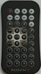 Rosen AC3567 AV7000/T8/T10 Video Remote Control