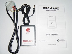 GROM-AUX-MAZ Mazda Zune/MP3 Aux Audio Input Adapter, Car Stereo Kits, Audio Wiring Harnesses, Installation Equipment, Electronics