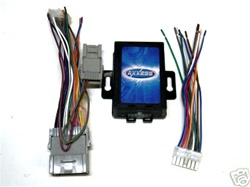 metra gmos 01 radio replacement wire harness w  nav output
