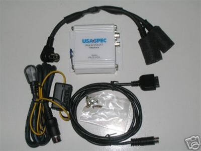 Usa Spec Pa11 Vol Volvo Ipod Adapter W Navigation Cable
