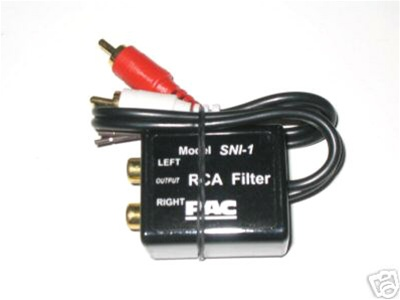 sni1 2 sni 1 rca amplifier aux noise filter, car stereo kits, audio pac sni 15 wiring diagram at panicattacktreatment.co