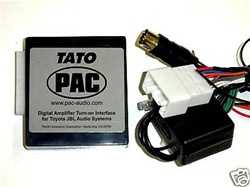 pac tato toyota jbl  synthesis radio harness  car stereo
