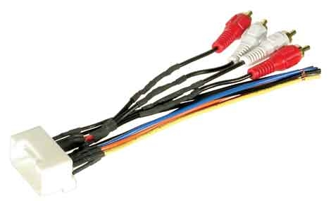 2002 2003 2004 2005 2006 toyota camry jbl stereo radio wire harness (replace factory radio with aftermarket radio)  2003 toyota camry wiring harness #9