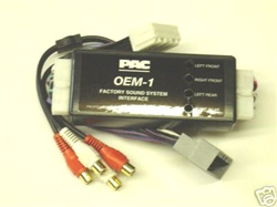 PAC AOEM-CHR2 Add an Amplifier Adapter