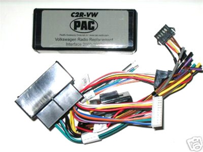 pac c2r-vw radio replacement wire harness, car stereo kits, audio wiring  harnesses, installation equipment, electronics, accessories & adapters
