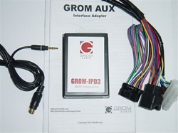 GROM-AUX-SUB08 Subaru 3.5mm Aux Audio Adapter Interface