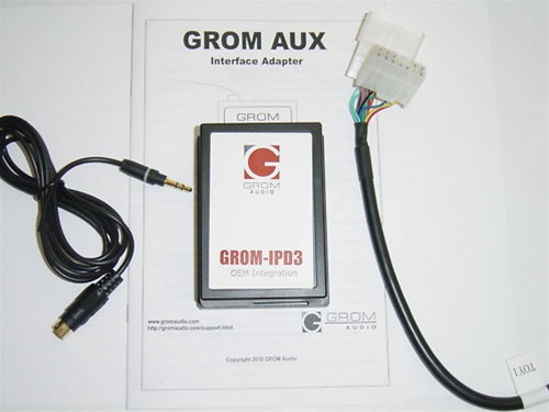 Grom Lexus 3 5mm Aux Audio In Adapter  Audio Wiring Harnesses  Installation