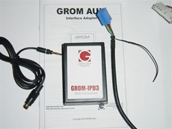 GROM-AUX-VAG-S VW 3.5mm Aux Audio In Adapter Interface