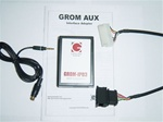 GROM-AUX-VAG-T VW/Audi 3.5mm Aux Audio Input Adapter, Audio Wiring Harnesses, Installation Equipment, Electronics, Accessories & Adapters