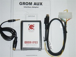 GROM-AUX-VOL94 Volvo 3.5mm Aux Audio Adapter Interface