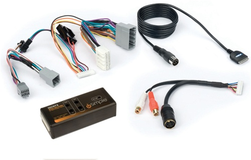 zune charger wiring diagram 67 dodge charger wiring diagram peripheral isimple isch73 chrysler ipod/iphone adapter