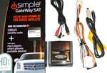 Peripheral iSimple ISHD11 Sirius Radio w/Aux Adapter , Car Stereo Kits, Audio Wiring Harnesses, Installation Equipment, Electronics